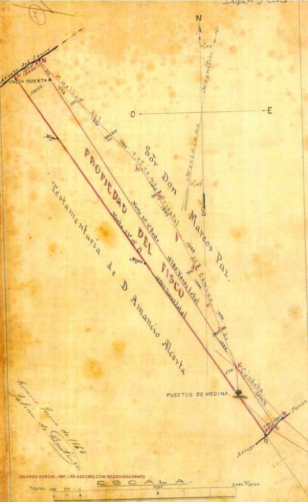 50 vara land survey measurement plano_indiamuerta1