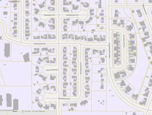 Tax Map of Property Lines - Property Survey